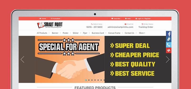 Smart Print 4 U Website